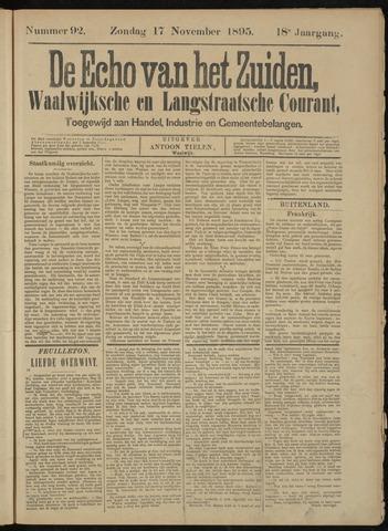 Echo van het Zuiden 1895-11-17
