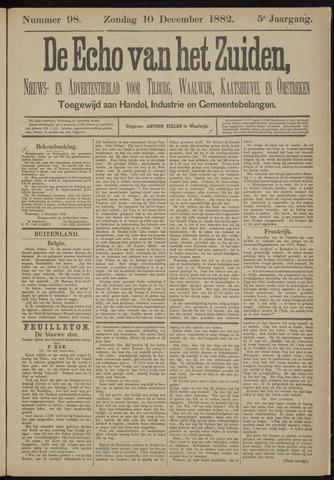 Echo van het Zuiden 1882-12-10