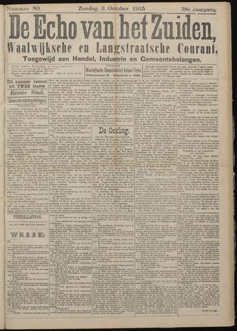 Echo van het Zuiden 1915-10-03