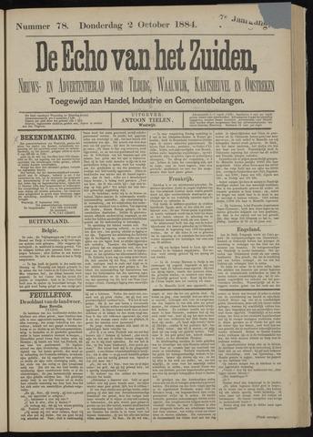 Echo van het Zuiden 1884-10-02
