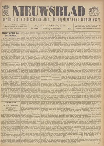 Nieuwsblad het land van Heusden en Altena de Langstraat en de Bommelerwaard 1917-09-05