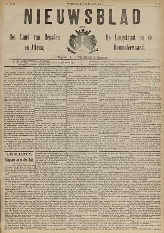 Nieuwsblad het land van Heusden en Altena de Langstraat en de Bommelerwaard 1892-02-03