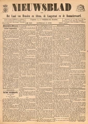 Nieuwsblad het land van Heusden en Altena de Langstraat en de Bommelerwaard 1905-06-17