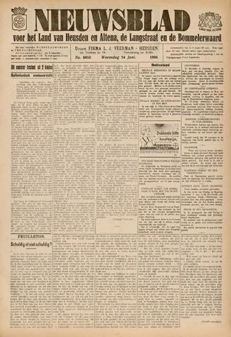 Nieuwsblad het land van Heusden en Altena de Langstraat en de Bommelerwaard 1936-06-24