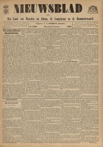 Nieuwsblad het land van Heusden en Altena de Langstraat en de Bommelerwaard 1906-01-06