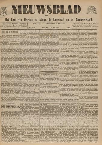 Nieuwsblad het land van Heusden en Altena de Langstraat en de Bommelerwaard 1903-09-09