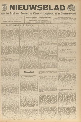 Nieuwsblad het land van Heusden en Altena de Langstraat en de Bommelerwaard 1948-10-18