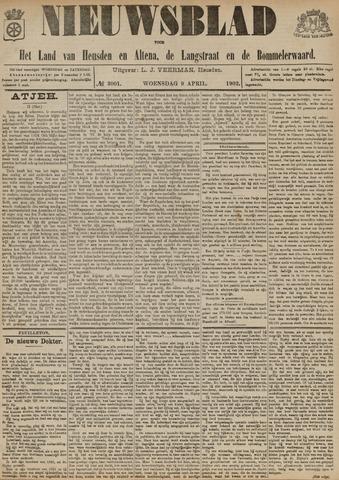 Nieuwsblad het land van Heusden en Altena de Langstraat en de Bommelerwaard 1902-04-09