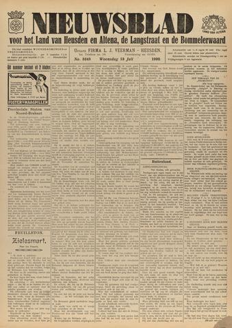 Nieuwsblad het land van Heusden en Altena de Langstraat en de Bommelerwaard 1932-07-13