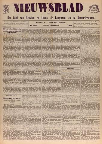Nieuwsblad het land van Heusden en Altena de Langstraat en de Bommelerwaard 1906-10-20