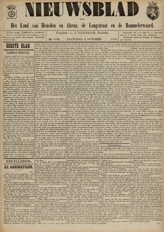 Nieuwsblad het land van Heusden en Altena de Langstraat en de Bommelerwaard 1892-10-08