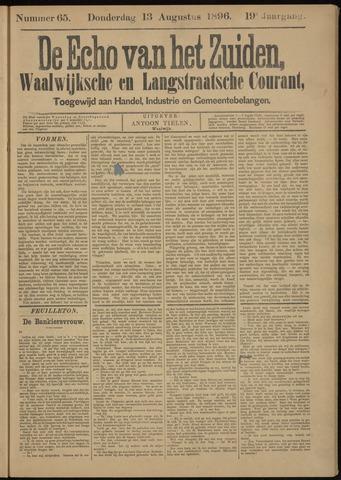 Echo van het Zuiden 1896-08-13