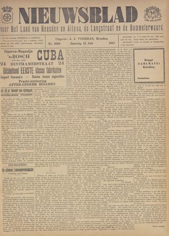 Nieuwsblad het land van Heusden en Altena de Langstraat en de Bommelerwaard 1917-07-21