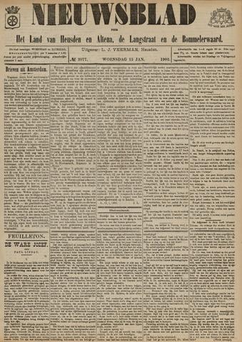 Nieuwsblad het land van Heusden en Altena de Langstraat en de Bommelerwaard 1902-01-15