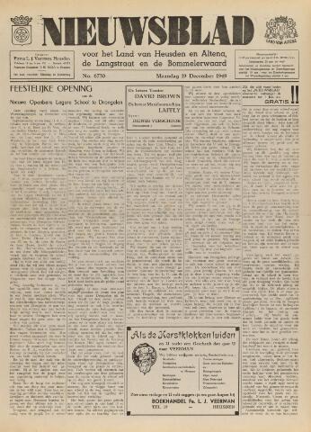 Nieuwsblad het land van Heusden en Altena de Langstraat en de Bommelerwaard 1949-12-19