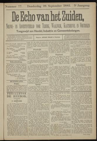Echo van het Zuiden 1882-09-28