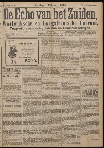 Echo van het Zuiden 1914-02-01