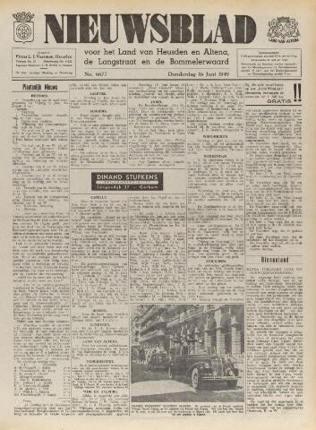 Nieuwsblad het land van Heusden en Altena de Langstraat en de Bommelerwaard 1949-06-16