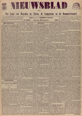 Nieuwsblad het land van Heusden en Altena de Langstraat en de Bommelerwaard 1911-09-30