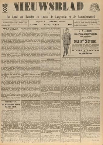 Nieuwsblad het land van Heusden en Altena de Langstraat en de Bommelerwaard 1913-04-12