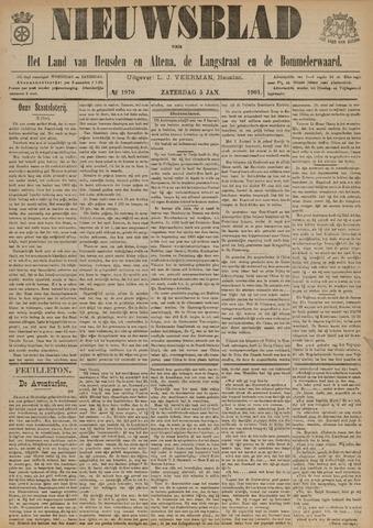 Nieuwsblad het land van Heusden en Altena de Langstraat en de Bommelerwaard 1901-01-05
