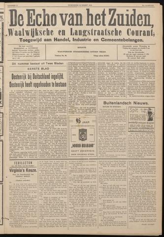 Echo van het Zuiden 1938-03-16