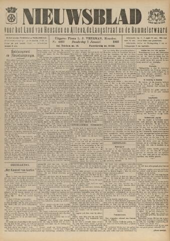 Nieuwsblad het land van Heusden en Altena de Langstraat en de Bommelerwaard 1925-01-01