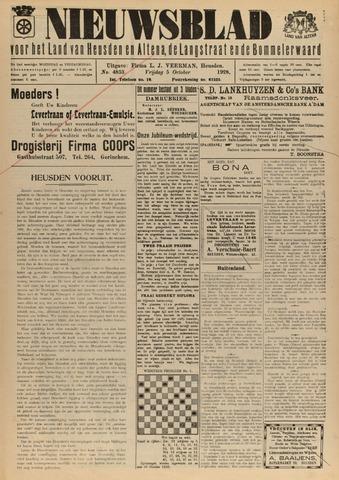 Nieuwsblad het land van Heusden en Altena de Langstraat en de Bommelerwaard 1928-10-05