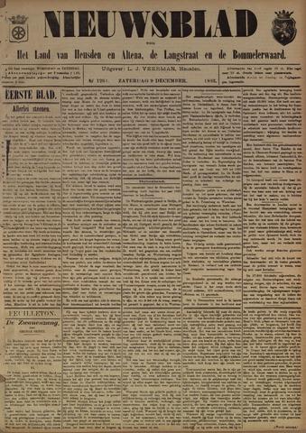 Nieuwsblad het land van Heusden en Altena de Langstraat en de Bommelerwaard 1893-12-09