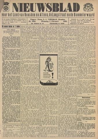 Nieuwsblad het land van Heusden en Altena de Langstraat en de Bommelerwaard 1930-02-05