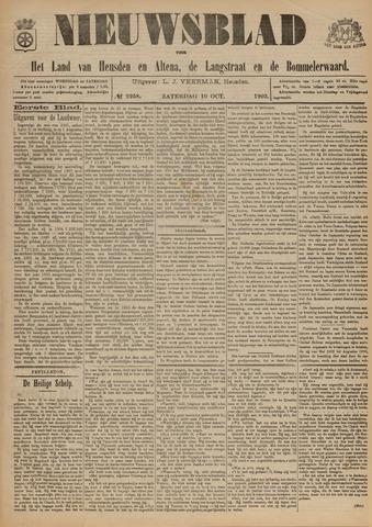 Nieuwsblad het land van Heusden en Altena de Langstraat en de Bommelerwaard 1903-10-10