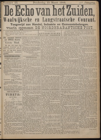 Echo van het Zuiden 1906-03-15