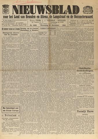 Nieuwsblad het land van Heusden en Altena de Langstraat en de Bommelerwaard 1941-12-31