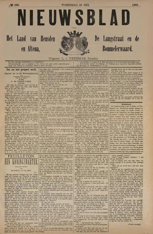 Nieuwsblad het land van Heusden en Altena de Langstraat en de Bommelerwaard 1888-05-30