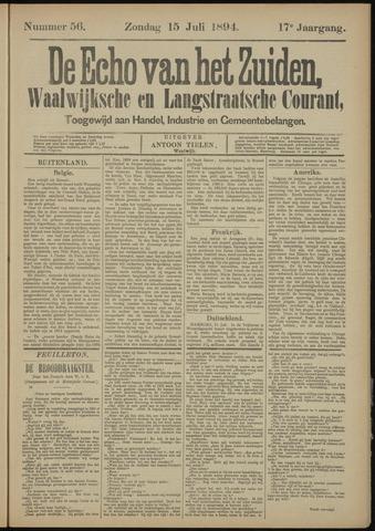 Echo van het Zuiden 1894-07-15