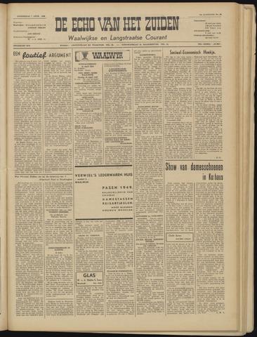 Echo van het Zuiden 1949-04-07