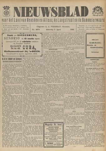 Nieuwsblad het land van Heusden en Altena de Langstraat en de Bommelerwaard 1921-04-02
