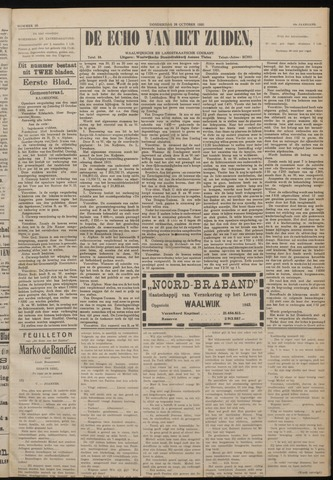 Echo van het Zuiden 1920-10-28