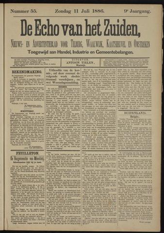 Echo van het Zuiden 1886-07-11