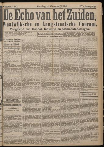 Echo van het Zuiden 1914-10-04