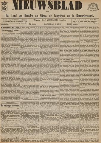 Nieuwsblad het land van Heusden en Altena de Langstraat en de Bommelerwaard 1902-08-09