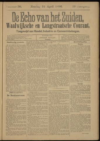 Echo van het Zuiden 1896-04-12