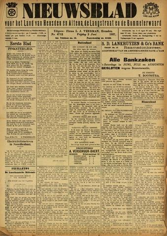 Nieuwsblad het land van Heusden en Altena de Langstraat en de Bommelerwaard 1927-06-03