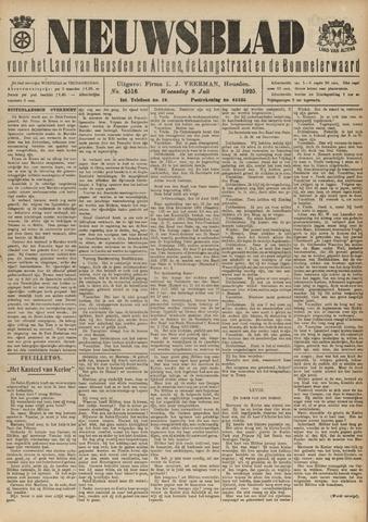 Nieuwsblad het land van Heusden en Altena de Langstraat en de Bommelerwaard 1925-07-08