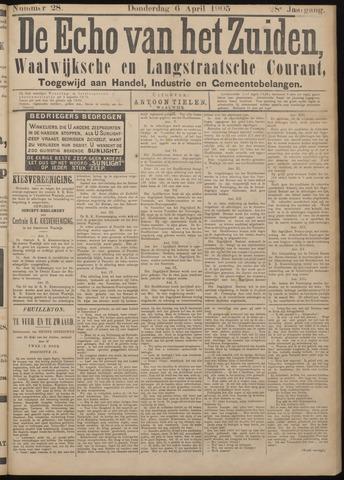 Echo van het Zuiden 1905-04-06