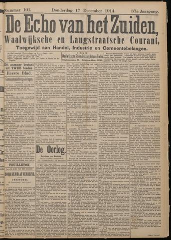 Echo van het Zuiden 1914-12-17