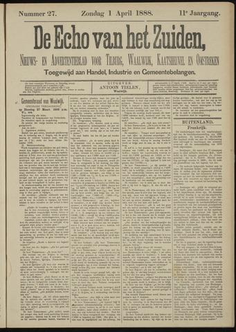 Echo van het Zuiden 1888-04-01
