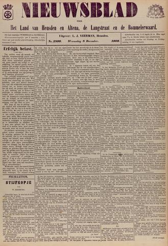 Nieuwsblad het land van Heusden en Altena de Langstraat en de Bommelerwaard 1909-12-08
