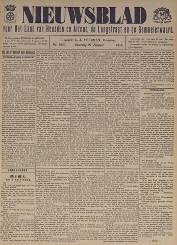 Nieuwsblad het land van Heusden en Altena de Langstraat en de Bommelerwaard 1917-01-27