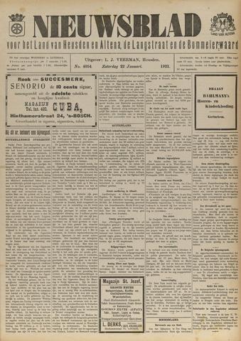 Nieuwsblad het land van Heusden en Altena de Langstraat en de Bommelerwaard 1921-01-22